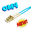 OM4 10 Gig Multimode 50/125 Duplex Patch Cable (Standard/Riser)